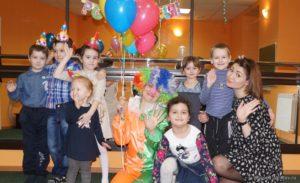 Детский день рождения в Саратове